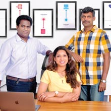 Subbarao Siddabattula, Co-Founder & CEO, Ilangovel Thulasimani, Co-Founder & CTO, Charu Noheria, Co-Founder & CBO