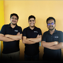Prashant Agarwal, Head of Business Development <br>Gaurav Doshi, Founder & CEO <br>Harshit Sharaff, Founder & CTO <br>Shawn Chong, Co-Founder,