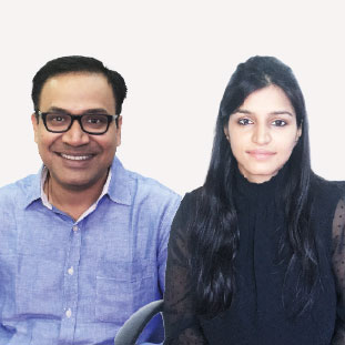 Garima Tripathi, Co-Founders,Vipin Pathak , Co-Founders