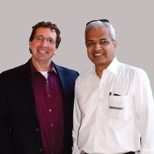 Vishwas (Vish) Mahajan & Paul Silverstein,Founder & Director & Founder & President
