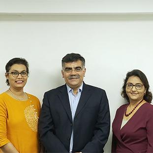 Paramita Kapat, Umesh Rateja & Dr. Aman Sher Singh,Founder Directors