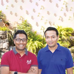 Roshit Choukhany & Abhijeet Agarwal,Partners