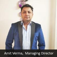Amit Verma,Managing Director