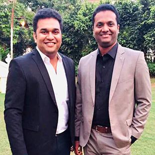 (L-R)Kedar Kango& Lohit Poojary,Co-Founders