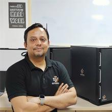 Saurav Jha,Co-Founder,Uday Parida, Co-Founder & HC Sharma & Vikash Dwivedi, Co-Founders