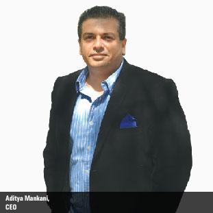 Aditya Raj Mankani,Founder & CEO