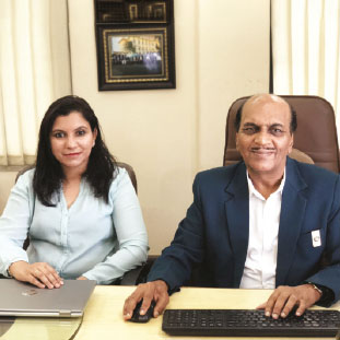Khushboo Shinagare, GM - Sales & Marketing,Kumar Shinagare, Managing Director