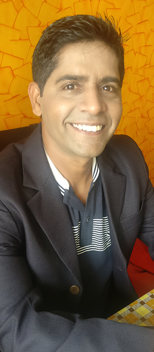 Rajneesh Sharma, Founder