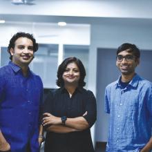 Visweswara Rao, CEO, Dinesh Ilindra, CTO