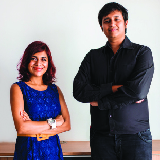 Villa and Sandeep, Co-Founder