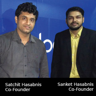 Satchit Hasabnis, Co-Founders ,Sanket Hasabnis, Co-Founders