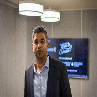 Piyush Gupta,   Founder