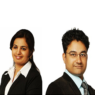 Priya Mehra, AVP Marketing Technology (L),Vishal Joshi, Executive Director (R)
