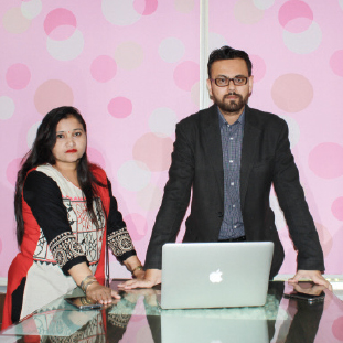 Ajay Arora & Ruchie Arora,Founder & Director & Co-Founder& Director