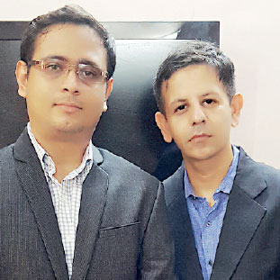 Sagar Paliwal, Founder & CEO,Mohit Nagar, Co-Founder & COO