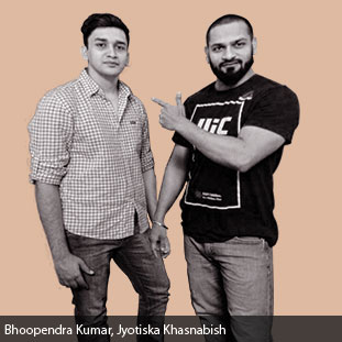 Bhoopendra Kumar,  Jyotiska Khasnabish ,CEO & Co-Founder , CTO & Co-Founder