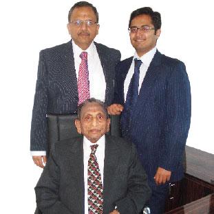 Ashwani Kumar, Founding Partner, Late. Shri Mohan Lal &,Aditya Kumar,  CEO