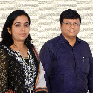 Dr. Rajesh Gowda & Dr. Tejaswini,Directors