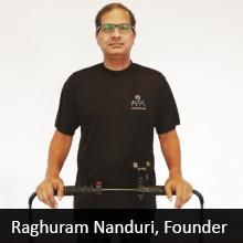 Raghuram Nanduri, Founder