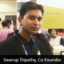 Swarup Tripathy,  Co-Founder