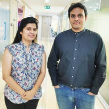 Chandni Priya & Karan Kabra,Co-Founders