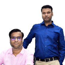 Yashpal Sharma, Co-Founder,Vikram Pratap, Co-Founder