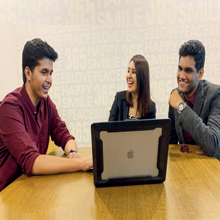 Aastha Sharma, Anoop Poonia & Vaibhav Jain,Co-Founders