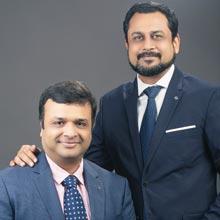 Nitin Goel & Atin Agarwal,Co-Founders
