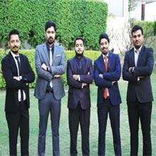 Ujjwal Kumar Jha, Sumit Bhat, Pankaj Khurana, Rajat Rastogi & Vishal Bhardwaj,Co-Founders