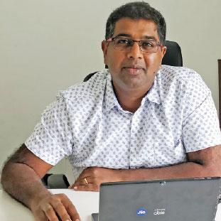Shankar M K,Founder and Director