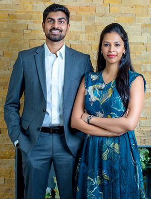 Dr. Rajesh Tummuru & Pooja Aakanksha Tummuru, Directors