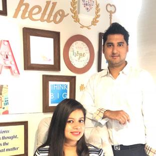 Sunny Chawla & Pallavi Chawla,Co-Founders