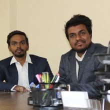 Shashank Prasher & Mayank Mani,  Co-Founders