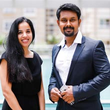 Laxmi Pandrala, Founder & CEO,Amol Kamble, Founder & MD