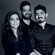 Disha Vaswani, Pranay Morarka & Rahil Sayed,Co-Founders