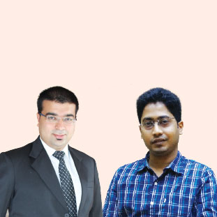Gyan Ranjan & Manish Nahar,Co-Founders