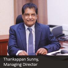 Thankappan Sunny,Managing Director