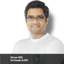 Selvam VMS,   Co- Founder & CEO