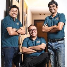 Kaushik Bhaduri, Dr Nilanjan Banerjee & Suman Das,Co-Founders