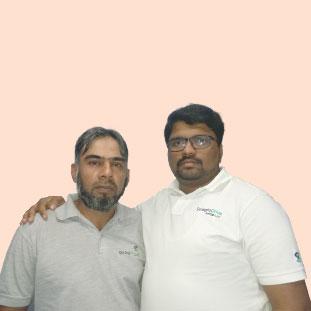 Mohammed Khurram &  Ashish Philip ,Co-Founder