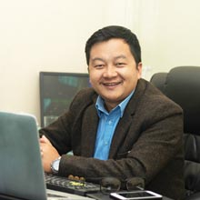 DB Ghale,CEO