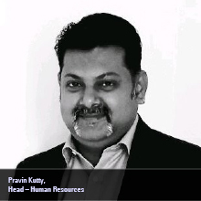Pravin Kutty, Head - Human Resources