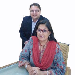Prerak Hora & Anuradha Maheshwari,Founding & Partner