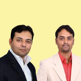 Zahiruddin Babar & Abhishek Parihar,Co-Founder & CEO & Co-Founder & CFO.