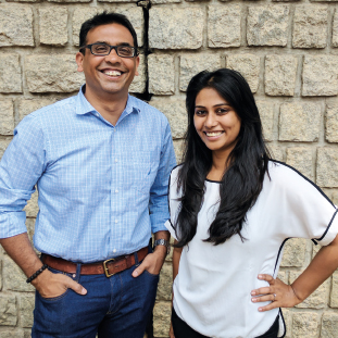 Dr. Arjun Rao, Founder & CEO,Pooja Prakash Rao, Co-Founder & COO