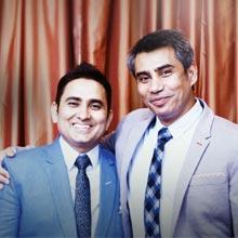 Jyoti Chopra, Chetan Handa & Sanjeev Chhibber, Founder Directors,Rahber Siddqui, Technology Officer