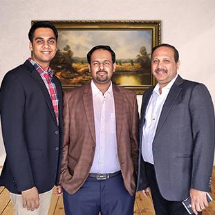 Ankit Murarka & Aman Kedia, Directors,Alok Goenka, Founder