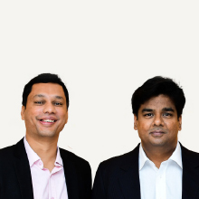 Sachin Joshi, Co - Founder,Prabhat Kumar Tiwary, Founder & CEO