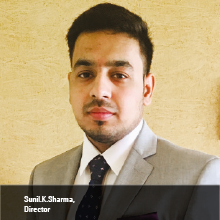 Sunil.K.Sharma,  Director