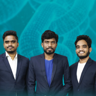 Lingamurthy Madaraboinaaka Murthy, Co-Founder & CEO,  Anil Kumar Kammari, Co-Founder & CTO, Bhargav Dath, Co-Founder & Director,<span style='display:none;'>.</span>